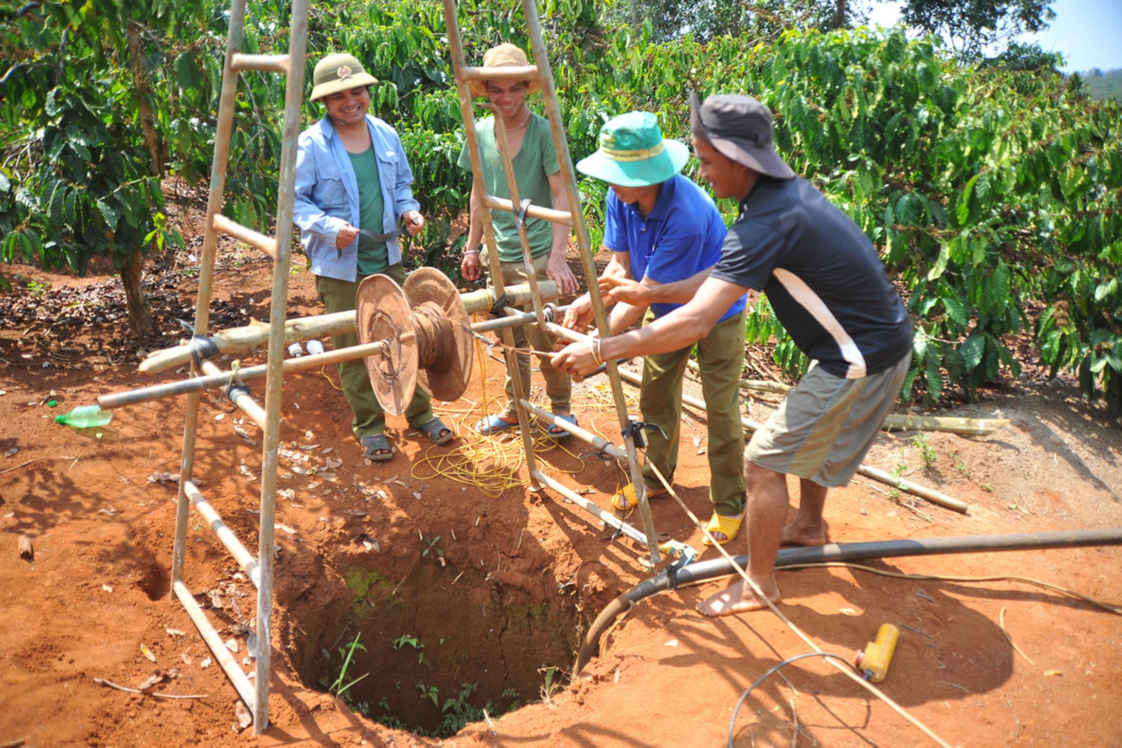 Gia Lai: Công bố vùng hạn chế khai thác nước dưới đất